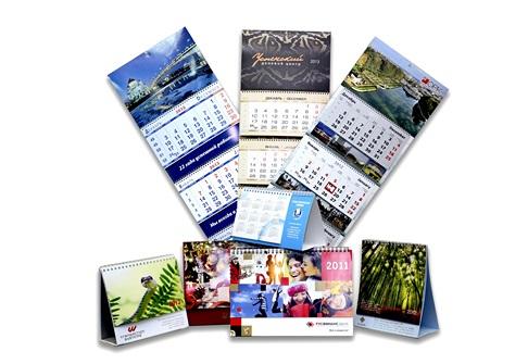 Особенности фирменного календаря
